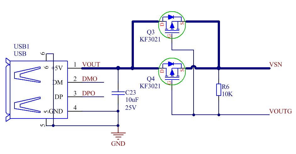 4.8a充电,18w放电,带type-c,快充移动电源方案